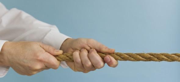 tirare la corda